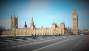 Westminster Bridge com'era fino a qualche anna fa