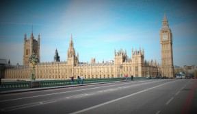 Westminster Bridge com'era fino a qualche anna fa